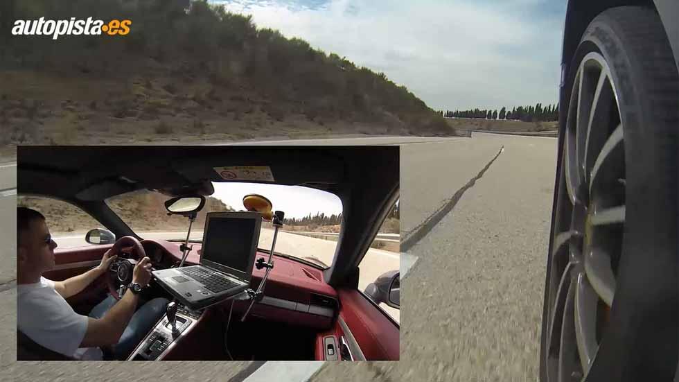 Porsche 911 Carrera S PDK: aceleración y frenada (vídeo)
