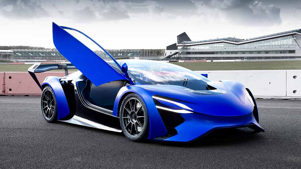 Los súper coches eléctricos con turbinas de Techrules se harán en Europa