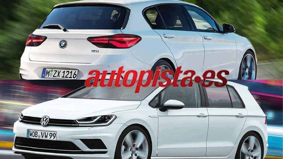 Revista Autopista 2954: así serán los nuevos Audi A3, BMW Serie 1 y VW Golf
