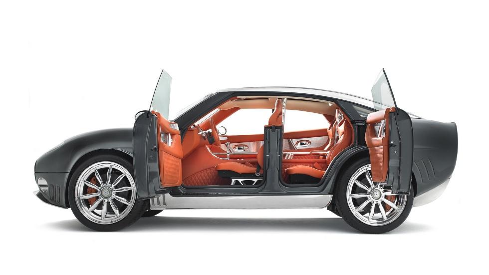 Spyker D12: un crossover con motor V12 o eléctrico