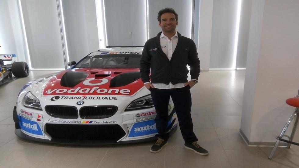 Roldán Rodríguez con el Team BMW de Teo Martín en el GT Open 2016