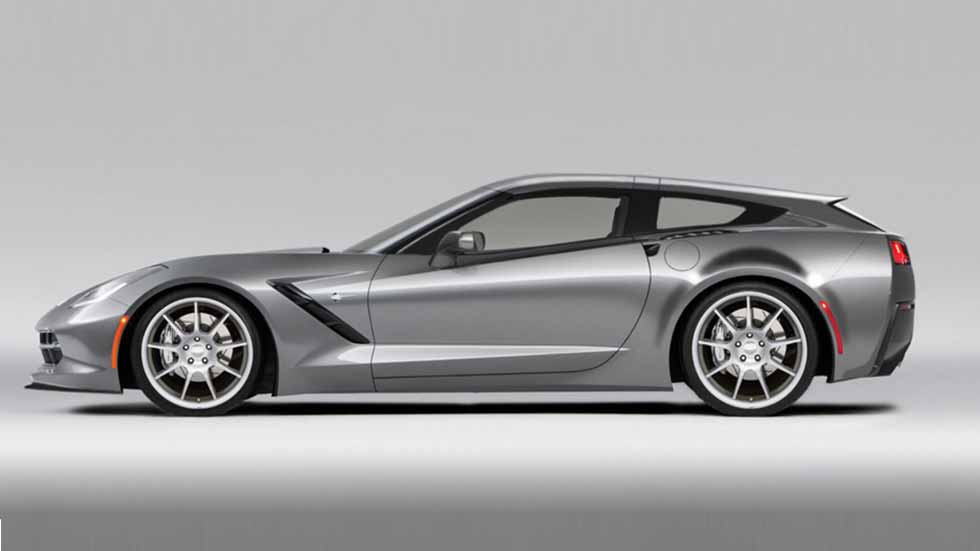 Chevrolet Corvette AeroWagen: transformación a Shooting Brake
