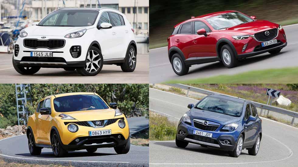 Los 10 mejores SUV por menos de 20.000 euros