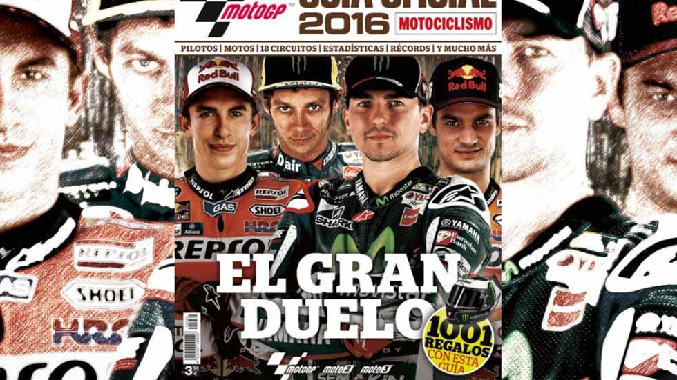 La Guía Oficial MotoGP 2016, ya a la venta
