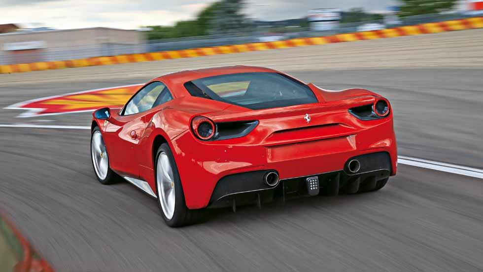 Prueba Ferrari 488 GTB: culto al turbo