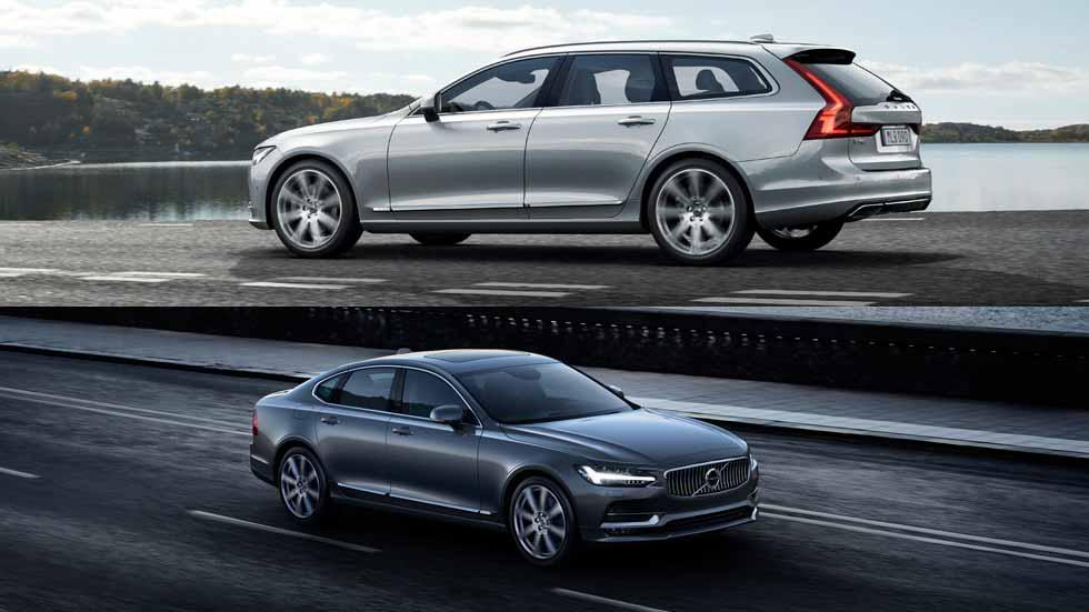 Volvo S90 y Volvo V90, precios desde 45.420 euros
