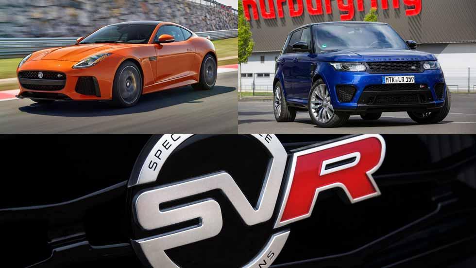 Los Jaguar y Land Rover SVR, ¿también eléctricos?