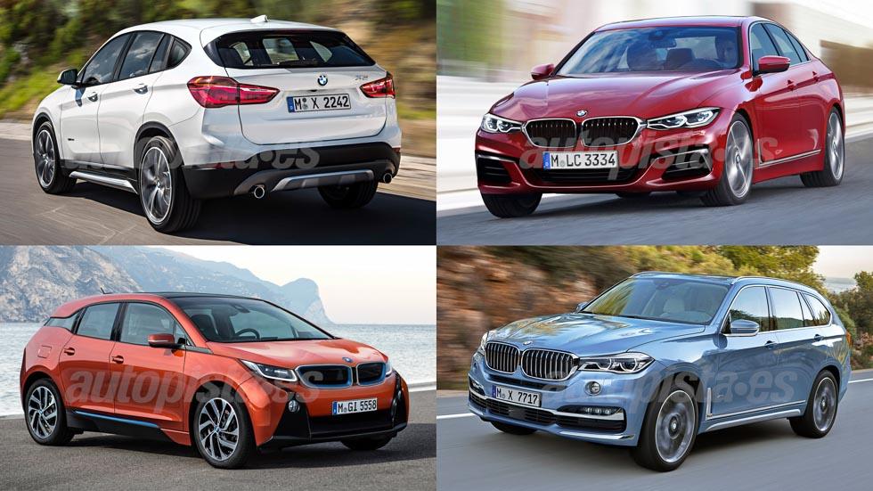 Ofensiva de coches BMW: todas las novedades hasta 2020