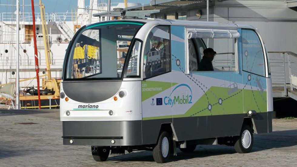 El autobús autónomo, ya en España