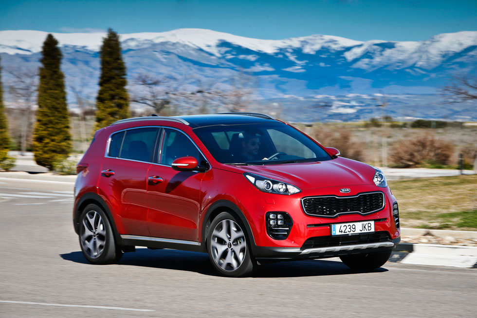 kia sportage 2 0 crdi 185 4x4 gt line un lujo de suv. Black Bedroom Furniture Sets. Home Design Ideas