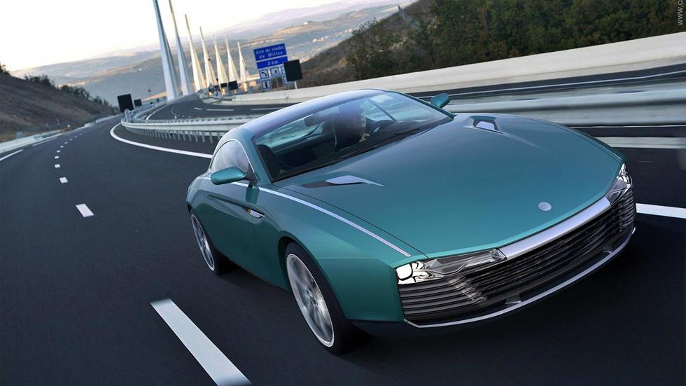 Cardi 442 Concept o cómo echar a perder un Aston Martin DB9