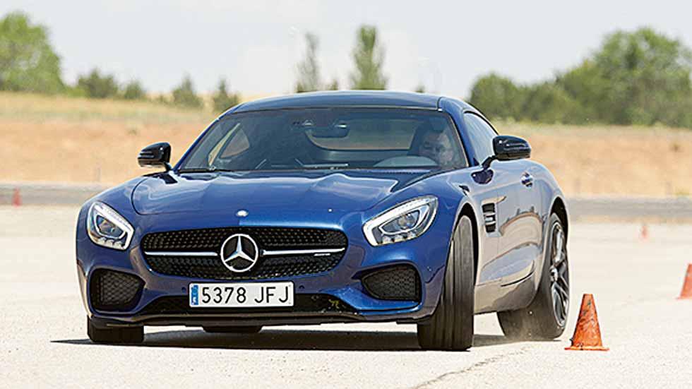 Mercedes AMG GT S: ¡súper propulsión!