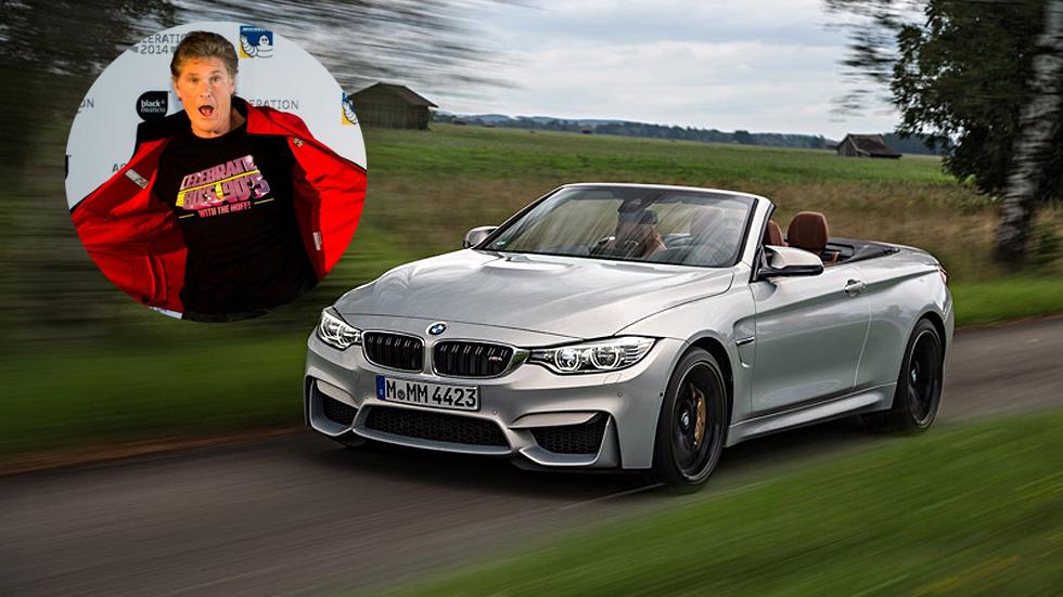 David Hasselhoff quiere cambiar a KITT por un BMW M4 Cabrio