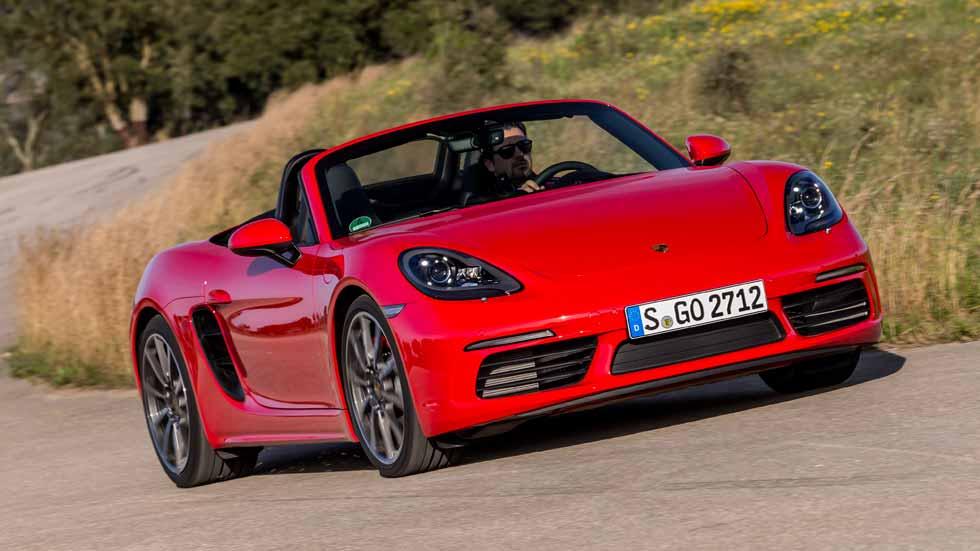 Porsche 718 Boxster: a prueba la nueva maravilla de Stuttgart