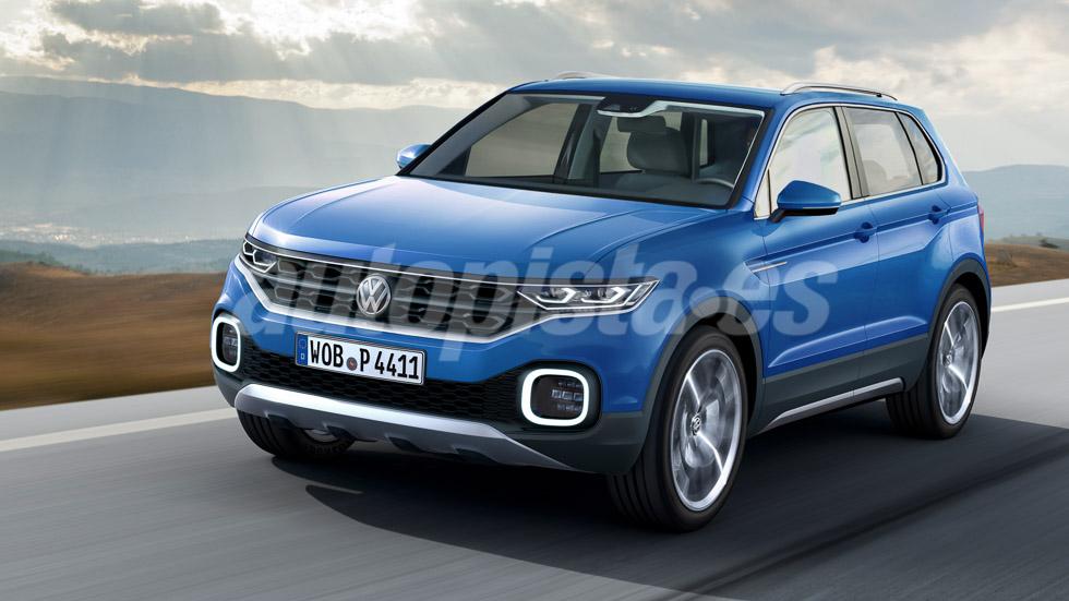 Volkswagen Polo SUV: un mini Tiguan en 2018