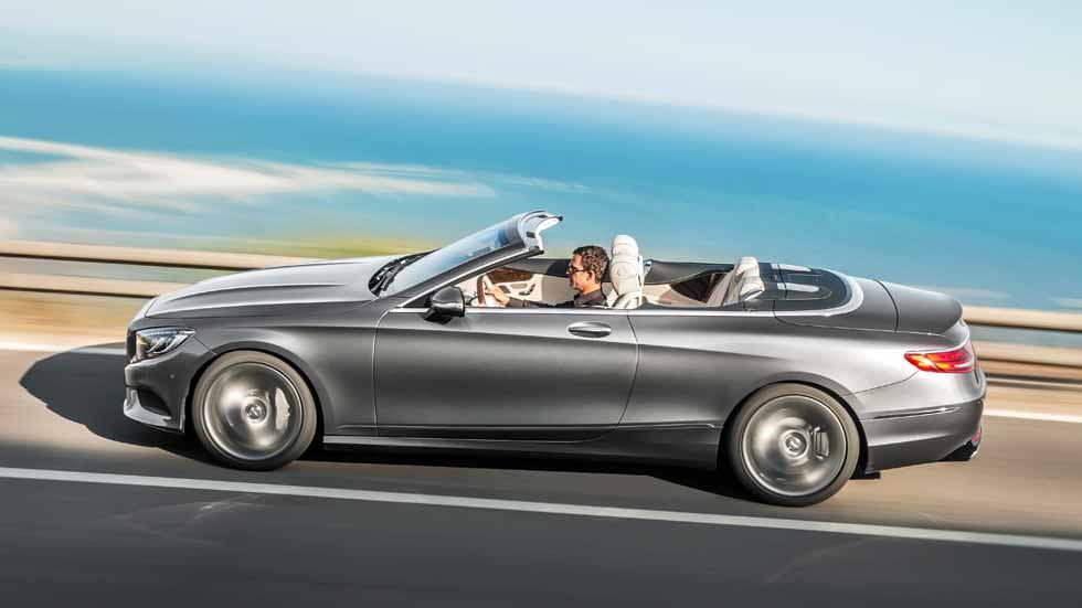 Mercedes Clase S Cabriolet, un lujo de descapotable