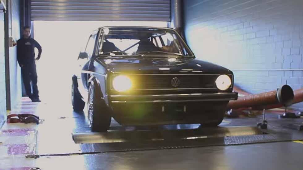 Así ruge un Volkswagen Golf I de más de 800 CV (vídeo)