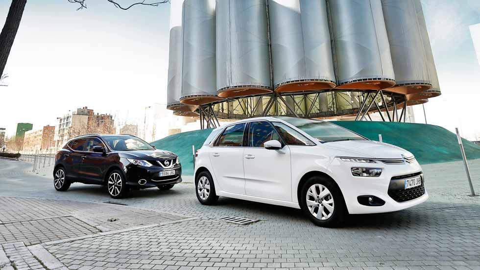 Citroën C4 Picasso y Nissan Qashqai: duelo de superventas