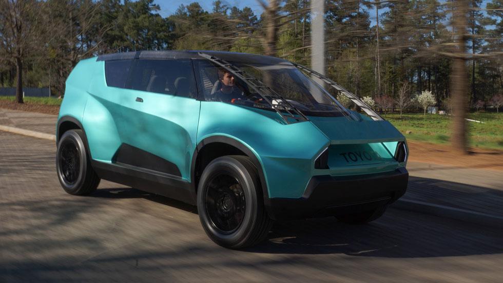 Toyota Ubox Concept, el eléctrico de la Generación Z