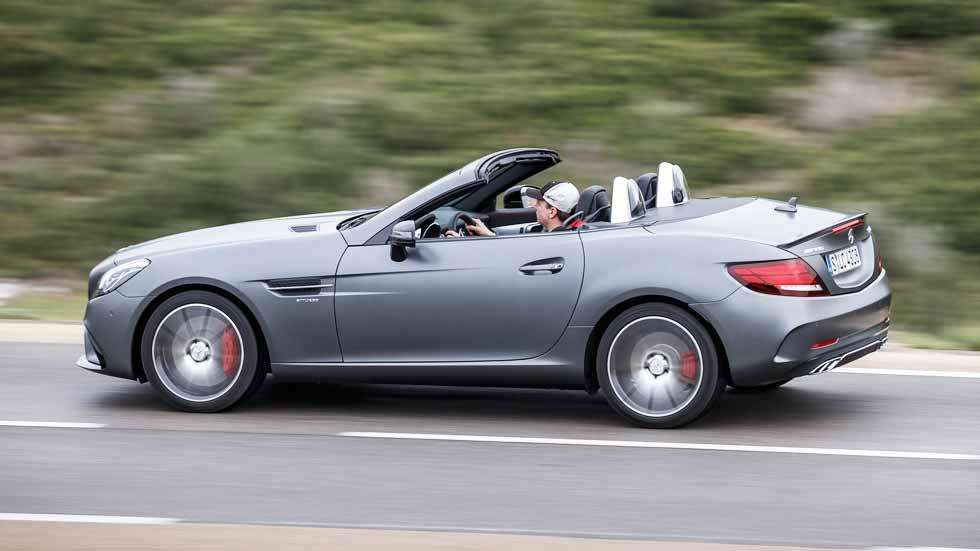 Mercedes SLC, cambio de nombre y de estilo