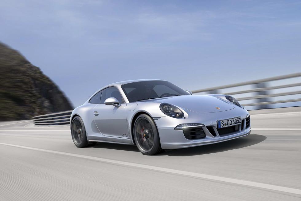 Porsche 911 GTS 2017: nuevo motor 3.0 bóxer Turbo