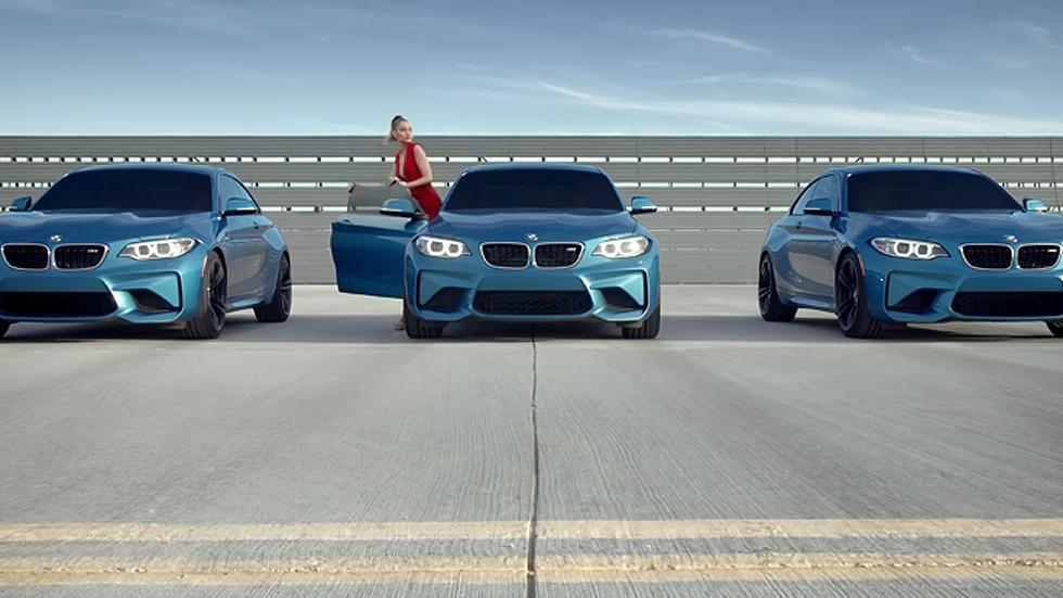 BMW M2: sigue a Gigi Hadid, si puedes… (vídeo)
