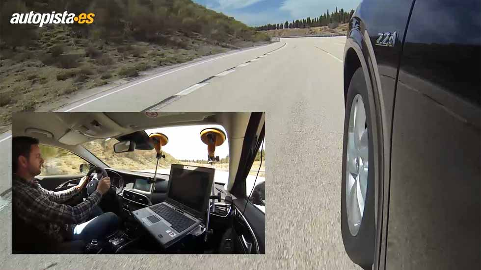 Infiniti Q30 2.2d 7DCT AWD: aceleración y frenada (Vídeo)