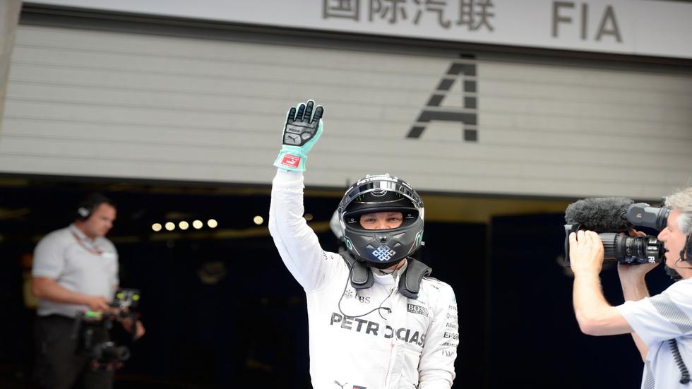 GP de China de F1 - Carrera: victoria para Nico Rosberg