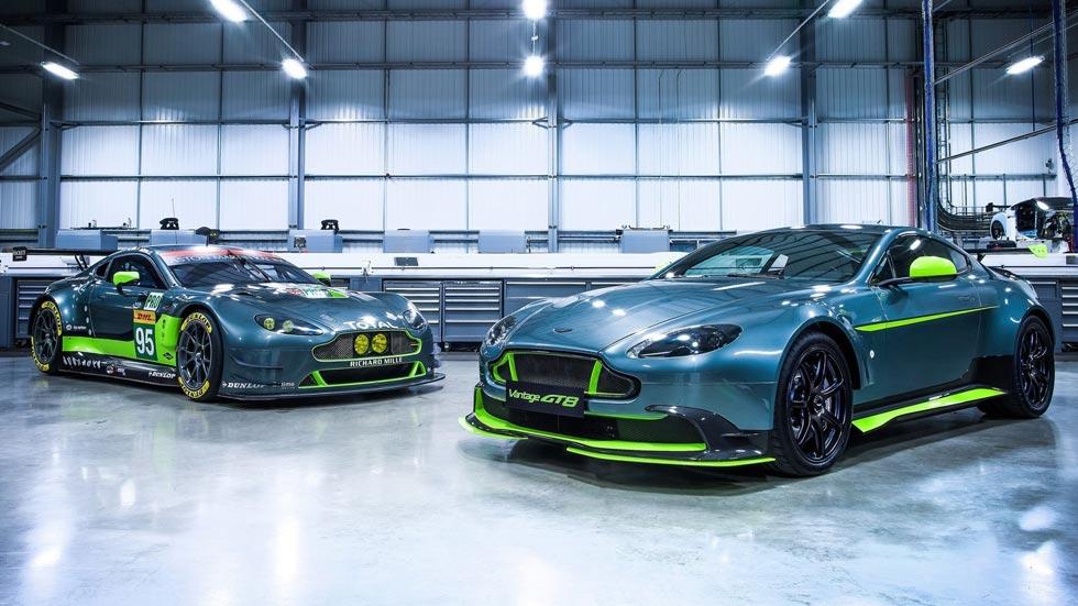 Aston Martin Vantage GT8 y GTS, de Le Mans a la carretera