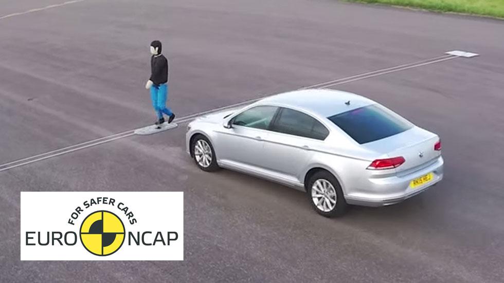 Los 5 coches más seguros para los peatones en caso de atropello