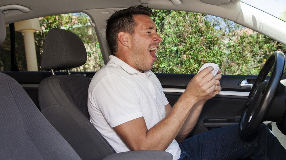 Qué medicamentos para la alergia puedes tomar si conduces
