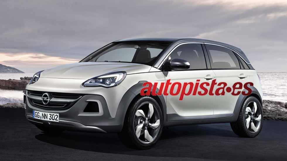 Nuevo Opel Meriva: próxima generación SUV en 2017