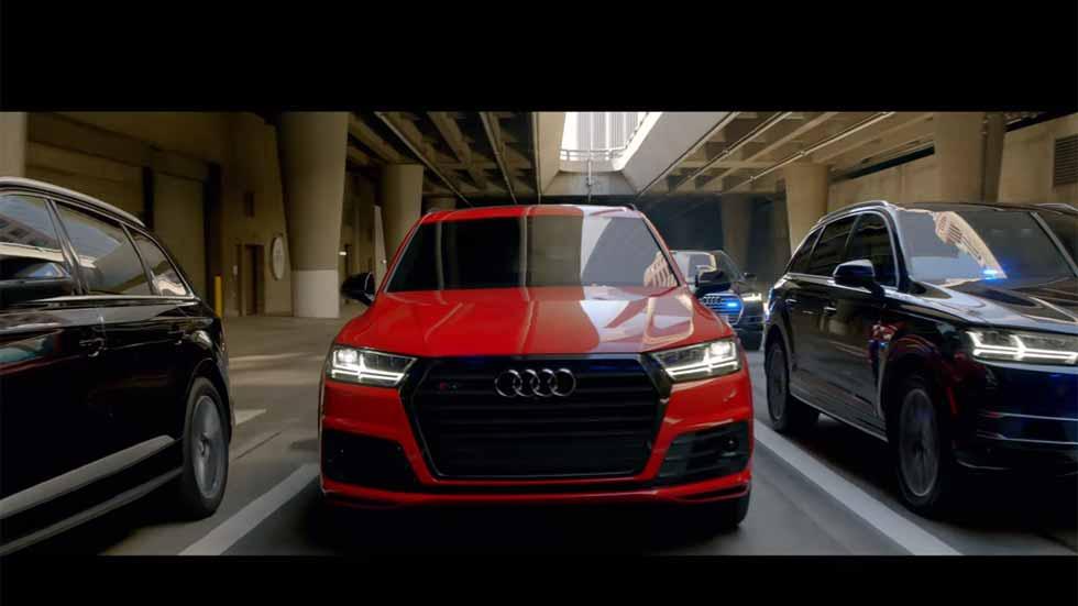 El Audi SQ7, en la película Civil War del Capitán América (vídeo y fotos)