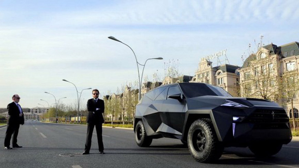 IAT Auto y su monstruoso SUV chino, con toques del Lexus LF-NX
