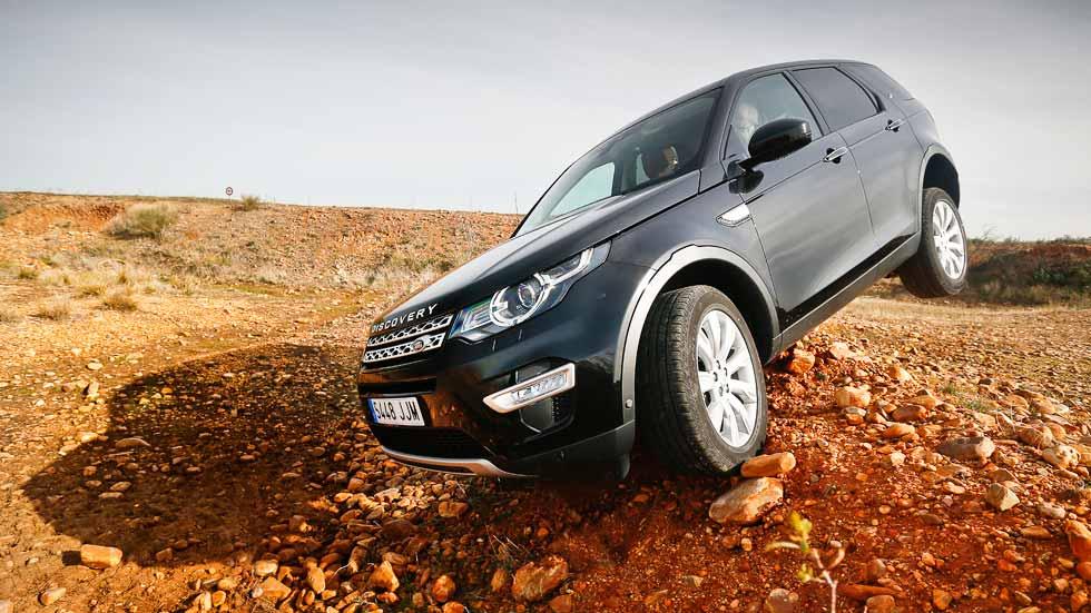 Prueba: Land Rover Discovery Sport 2.0 TD4/180 Aut. 4x4