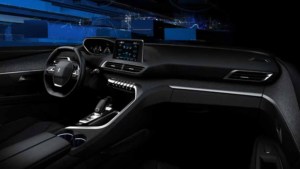 Nuevo Peugeot 3008 2016, nos sentamos en su interior