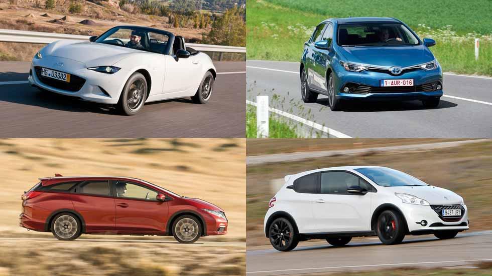 Los 10 coches más interesantes por menos de 25.000 euros