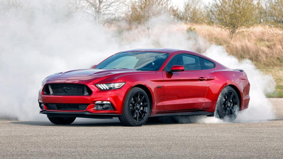 El Ford Mustang, el coupé deportivo más vendido del mundo en 2015