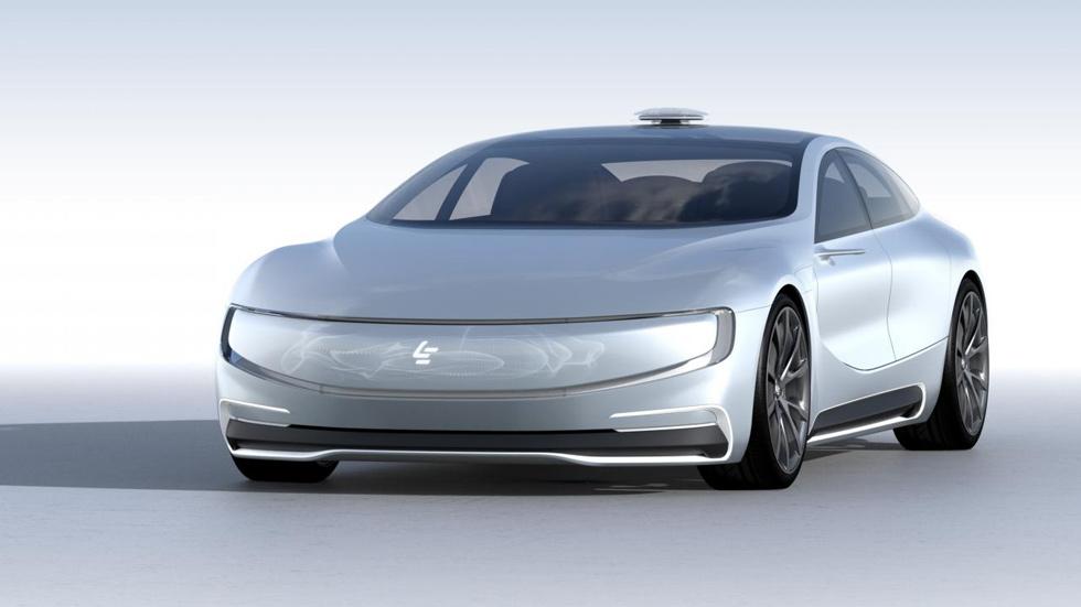 Leeco LeSEE, el Tesla Model S ya tiene un rival chino