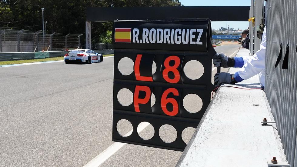 GT Open Estoril- Roldán Rodríguez abandona