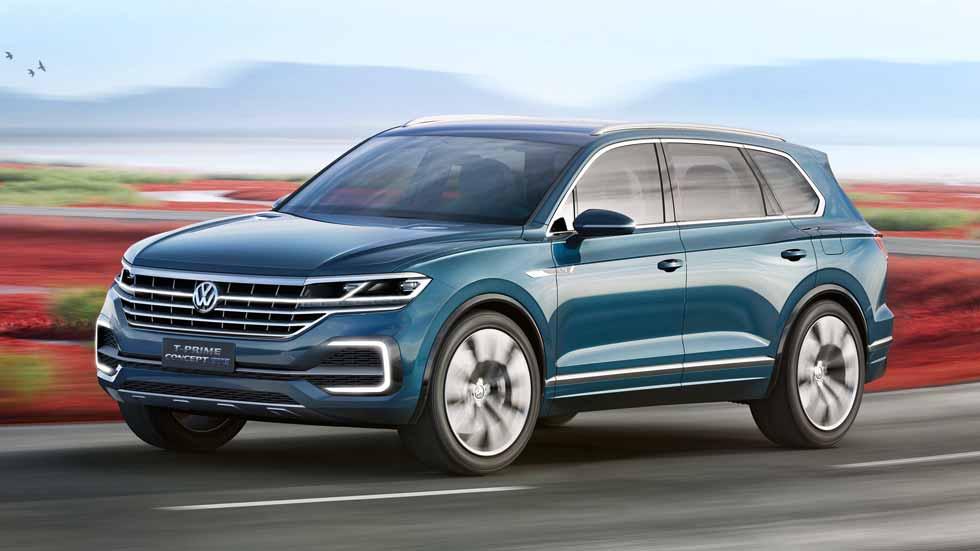 Volkswagen T-Prime Concept GTE, desvelado el Touareg XL