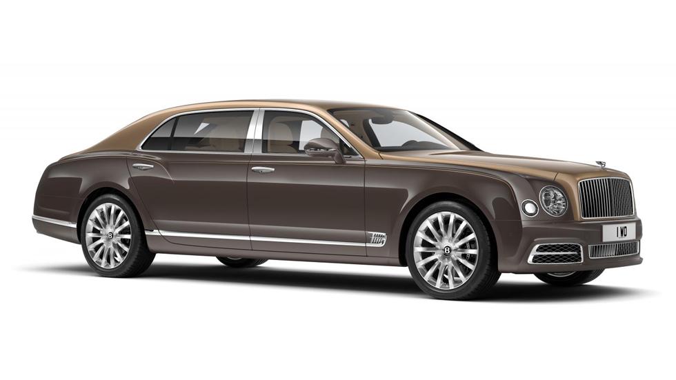 Bentley Mulsanne First Edition, solo para 50 afortunados