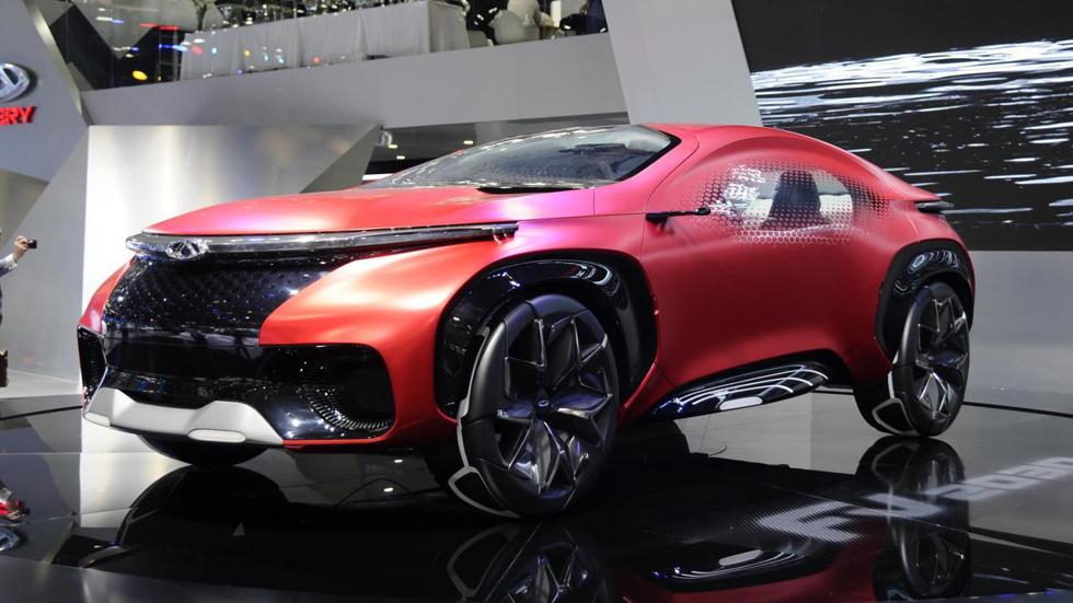 Chery FV2030: SUV futurista, eléctrico y autónomo
