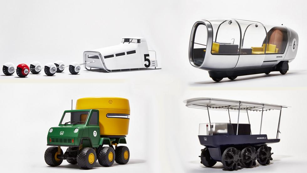 La conducción autónoma de Honda, un adelanto a modo de juguetes