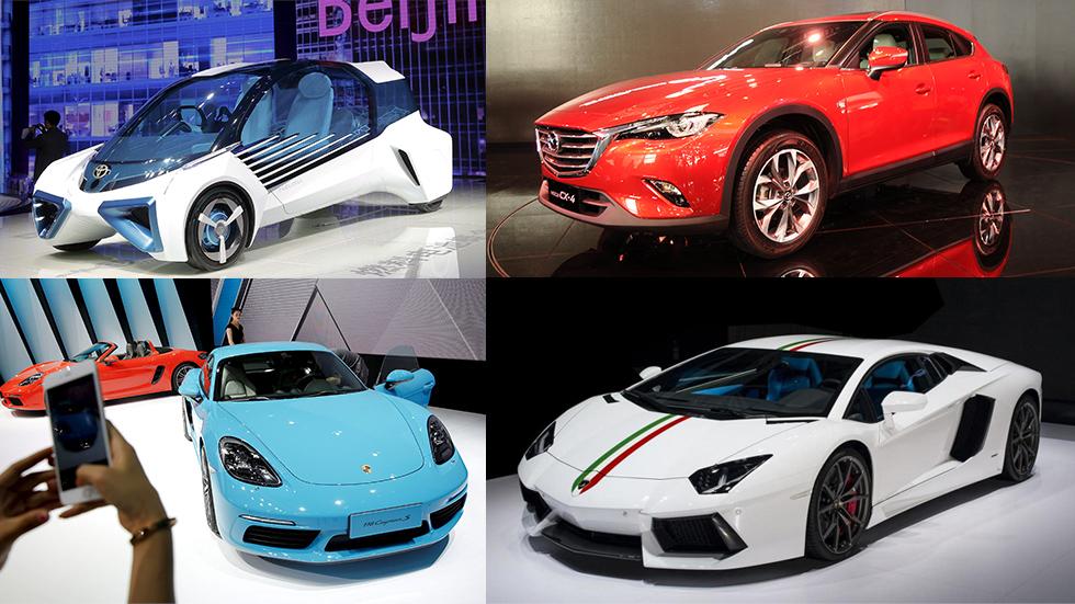 Salón de Pekín 2016: todas las grandes novedades de coches