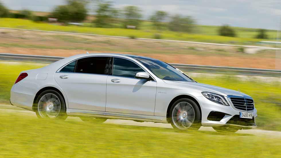 Mercedes-AMG S 63 Largo: muy rápido y muy lujoso