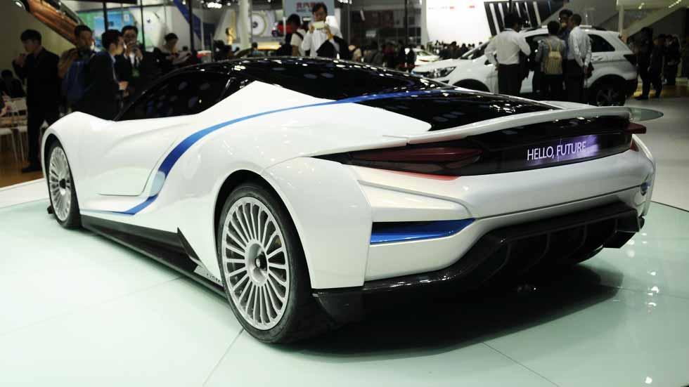 BAIC Arcfox-7, el súper deportivo eléctrico chino de origen español