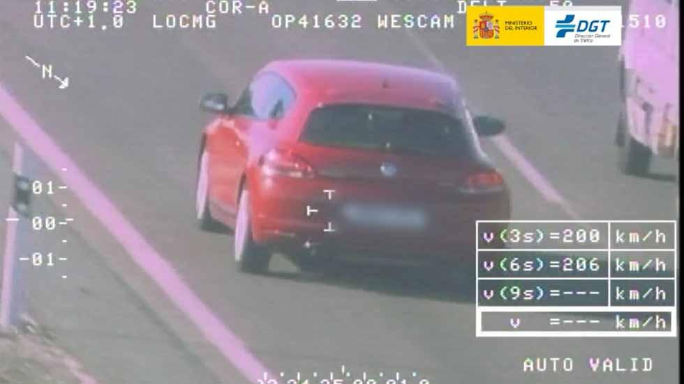34.000 conductores multados en la última campaña de velocidad de la DGT