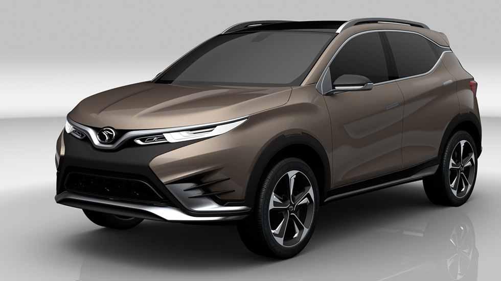 Pininfarina DX3 Concept: la fiebre SUV sigue subiendo