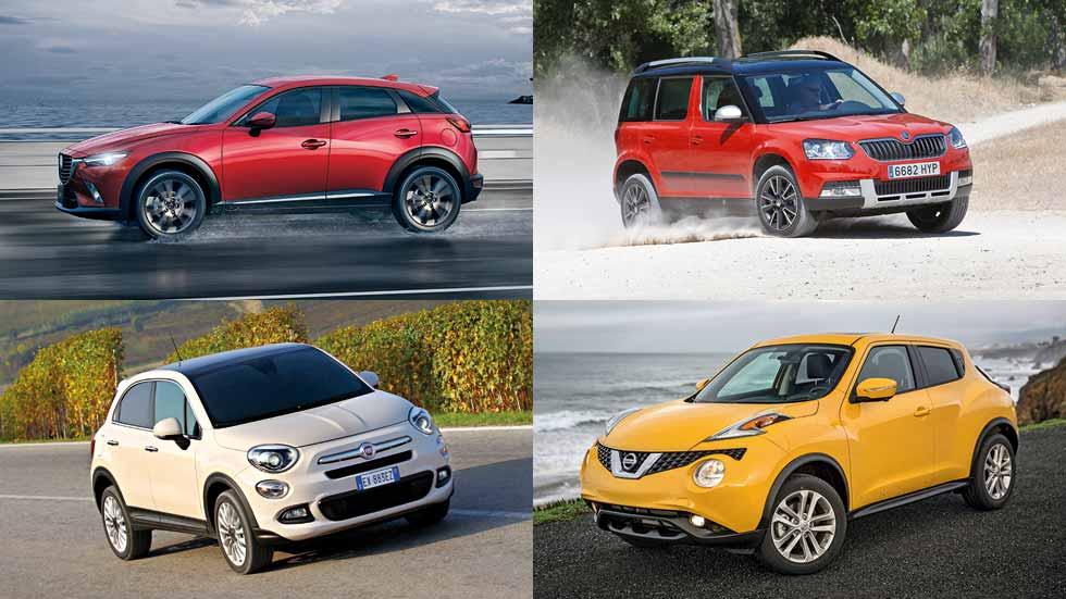 Todos los SUV pequeños o urbanos del momento